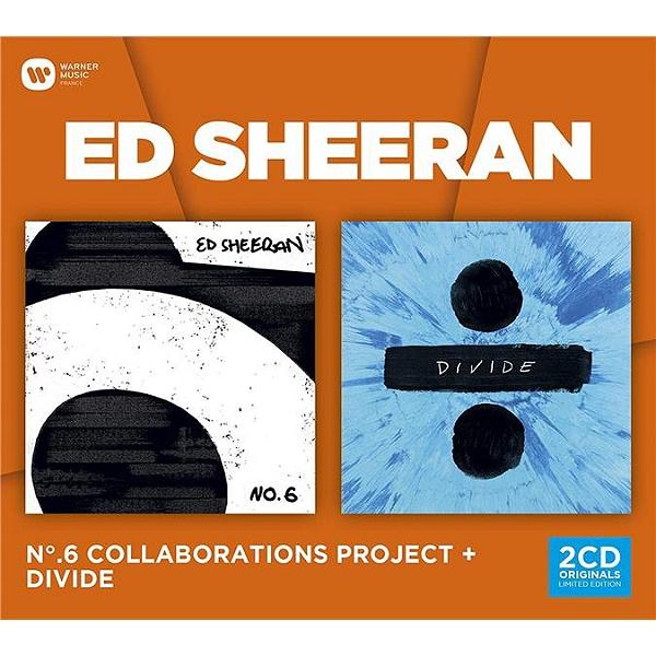 Ed Sheeran - CD Coffret (N°6 Collaborations project & Divide) (2CD)