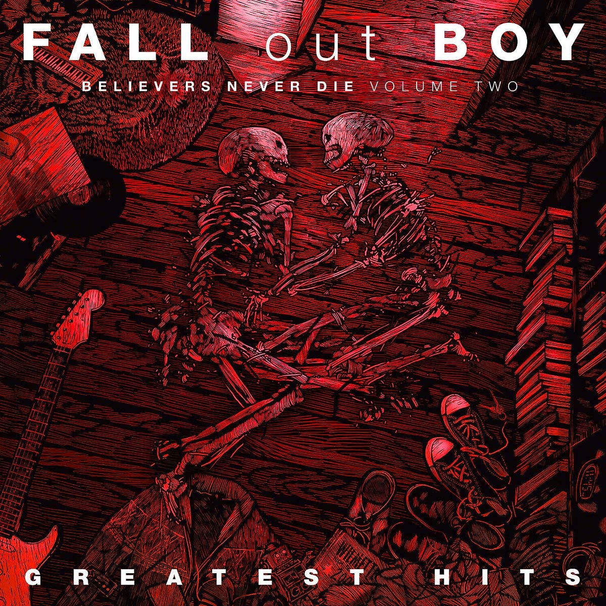 FALL OUT BOY - CD BELIEVERS NEVER DIE VOL.2
