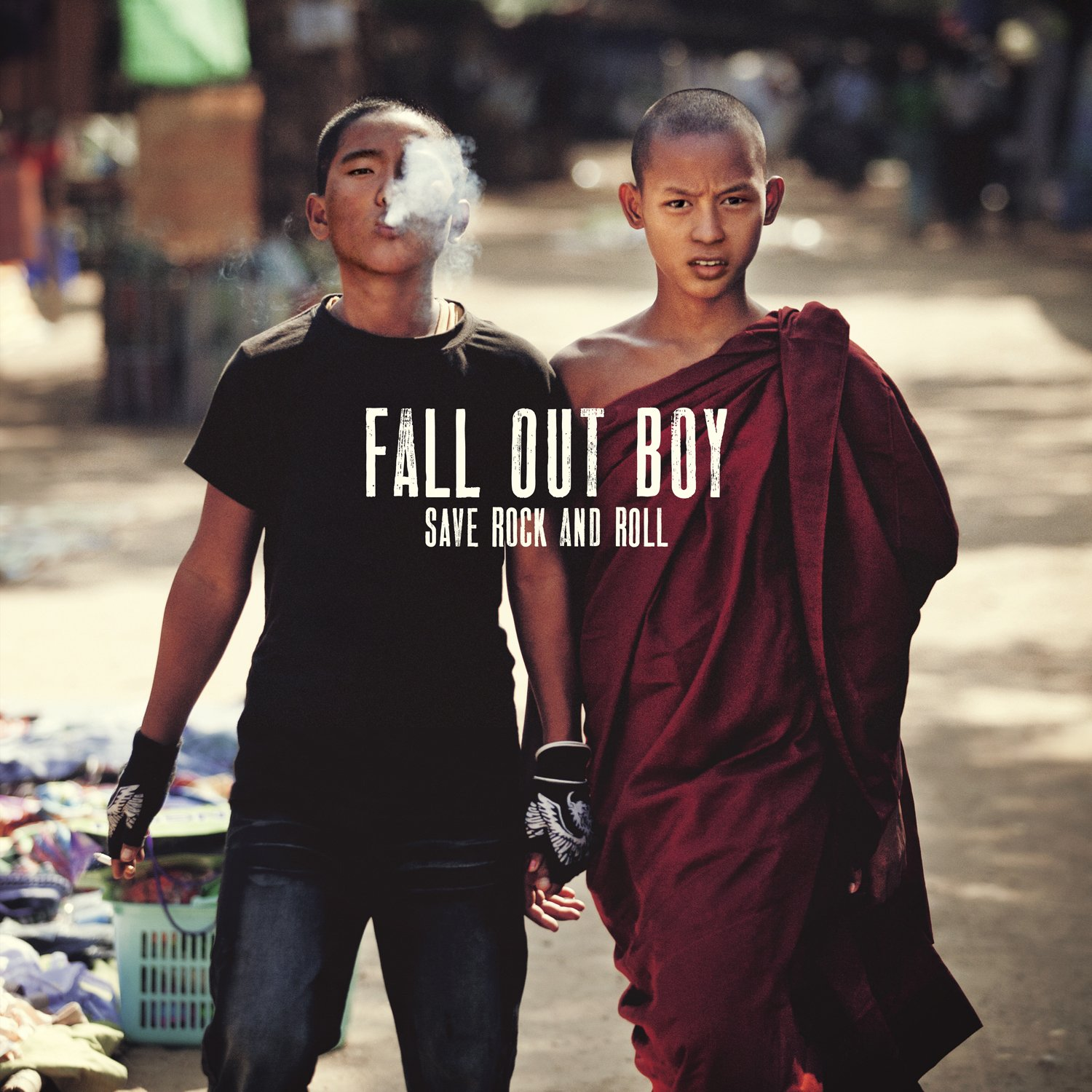 FALL OUT BOY - CD SAVE ROCK AND ROLL