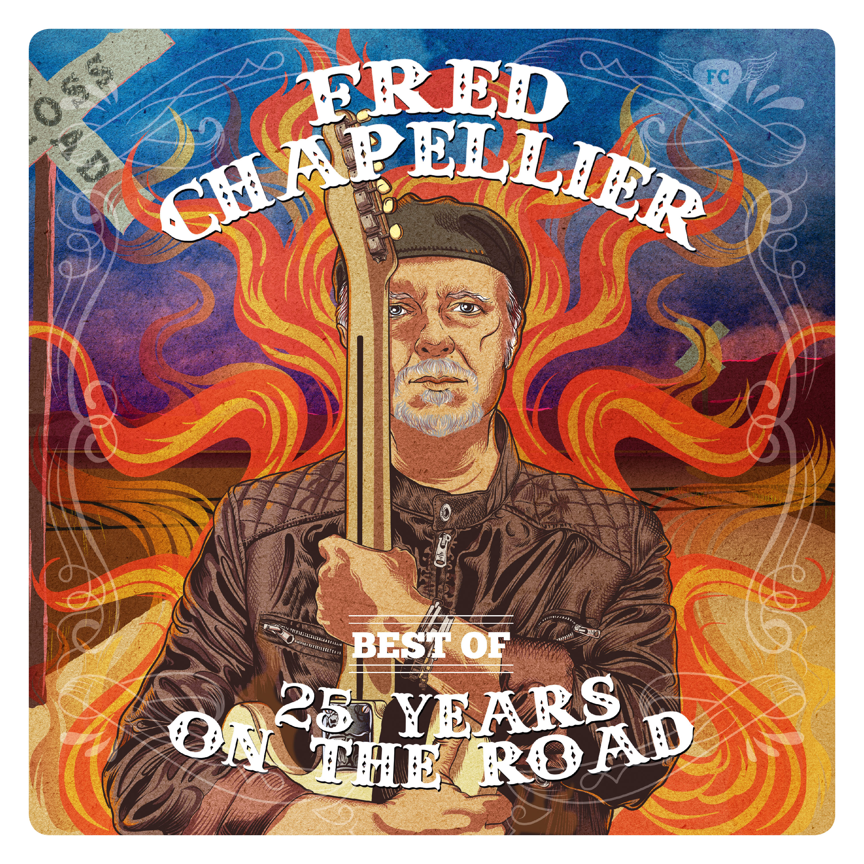 Fred Chapellier - CD BEST OF - 25 YEARS ON THE ROAD