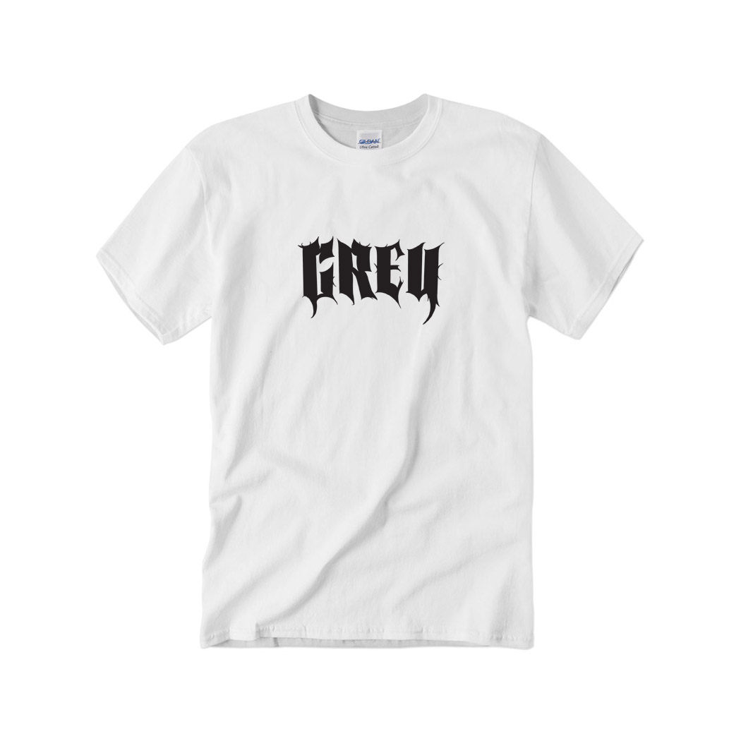 GREY - Tričko Grey. - Muž, Biela, XXL