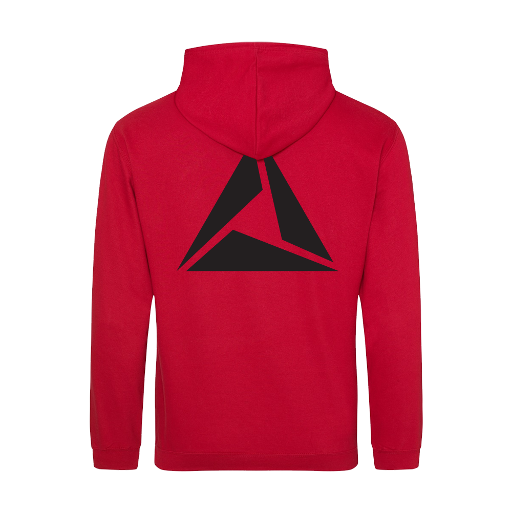 ILLUMINATE - Mikina Logo Black print - Muž, Červená, XL