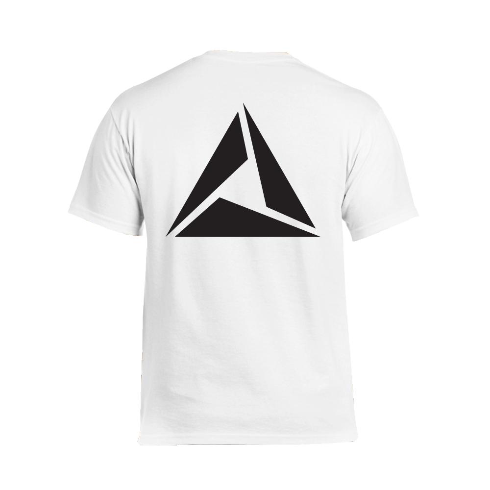 ILLUMINATE - Tričko Logo Black print - Muž, Biela, XXL
