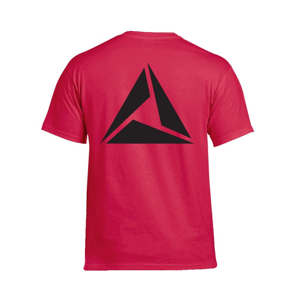ILLUMINATE - Tričko Logo Black print - Muž, Červená, XXL
