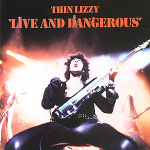 THIN LIZZY - CD LIVE AND DANGEROUS
