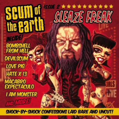 CD SCUM OF THE EARTH - SLEAZE FREAK