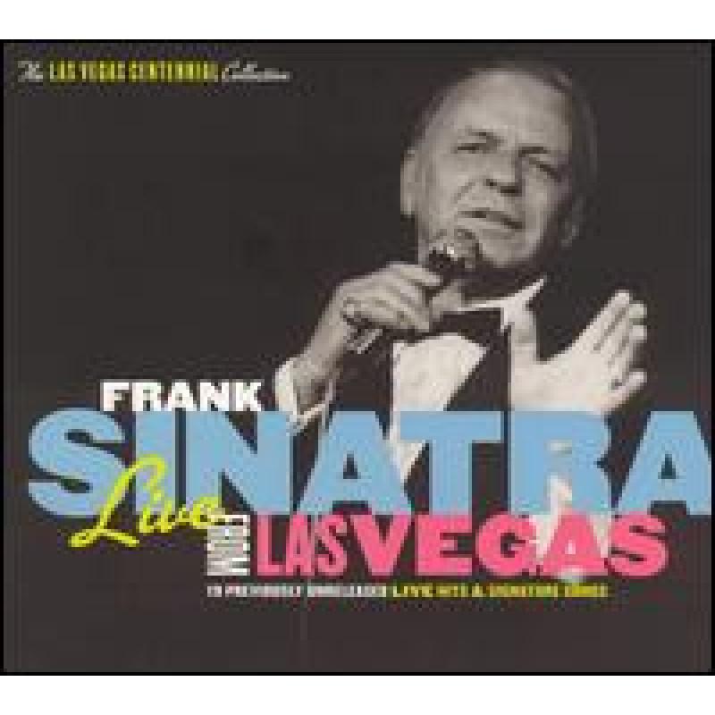 Frank Sinatra - CD LIVE FROM LAS VEGAS