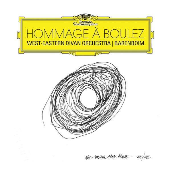 CD BARENBOIM/WEST-EAST.DIV.OR - HOMMAGE A BOULEZ