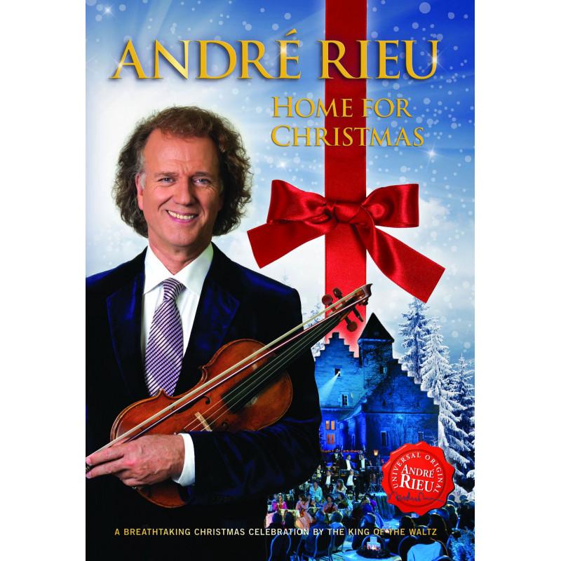 DVD RIEU ANDRE - HOME FOR CHRISTMAS