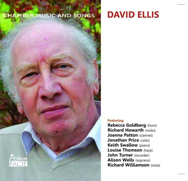 CD ELLIS, D. - CHAMBER MUSIC AND SONGS