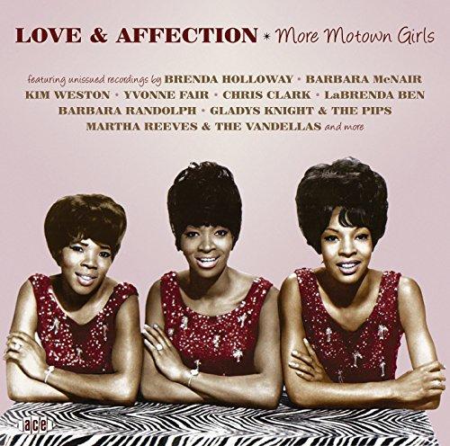 CD V/A - LOVE & AFFECTION - MORE MOTOWN GIRLS