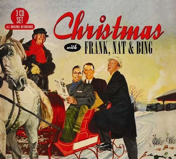 CD V/A - CHRISTMAS WITH FRANK, NAT & BING