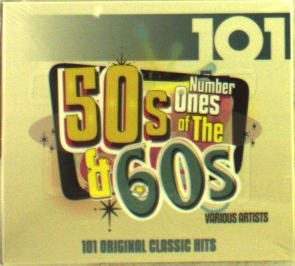 CD V/A - NUMBER 1S OF THE 50S & 60S