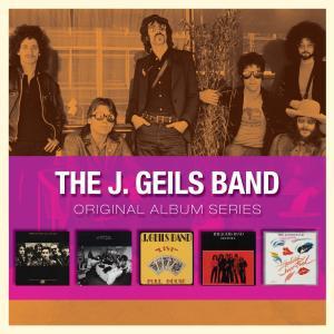 CD GEILS, J. THE BAND - ORIGINAL ALBUM SERIES