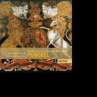 CD MONTEVERDI CHOIR/JOHN ELIOT GARDINER - HAIL! BRIGHT CECILIA; MUSIC FOR QUEEN MARY