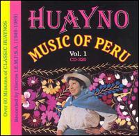 CD V/A - HUAYNO MUSIC OF PERU VOL.1