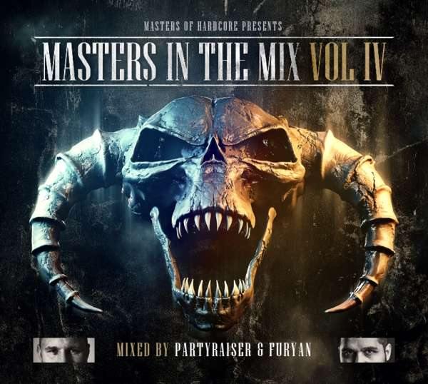 CD PARTYRAISER & FURYAN - MASTERS IN THE MIX 4