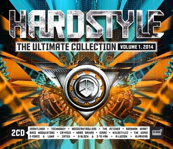 CD V/A - HARDSTYLE THE ULTIMATE COLLECTION VOL. 1 2014