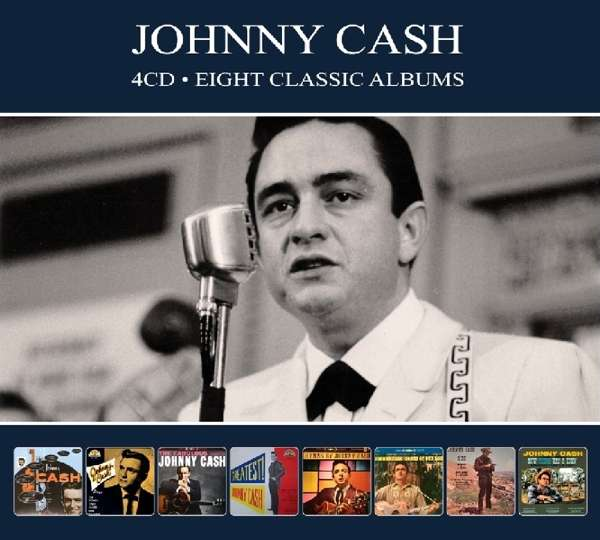 CD CASH, JOHNNY - EIGHT CLASSIC ALBUMS