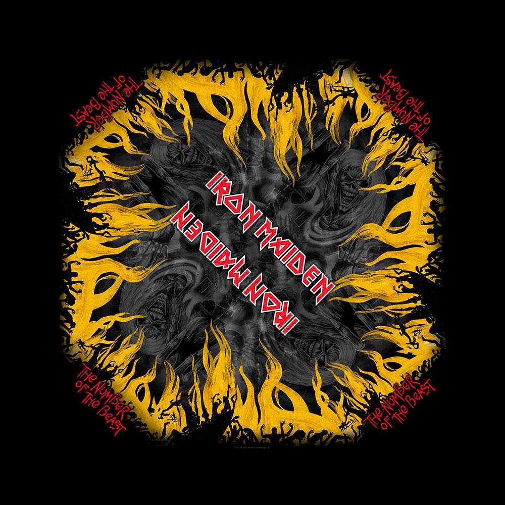 Iron Maiden - Šatka The Number Of The Beast