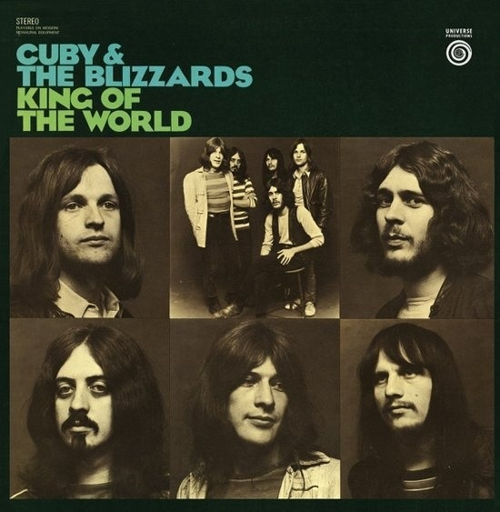 CD CUBY & THE BLIZZARDS - KING OF THE WORLD
