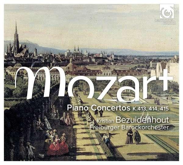 CD MOZART, W.A. - PIANO CONCERTOS K413-415