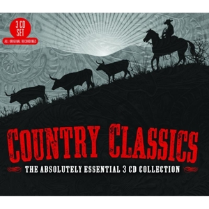 CD V/A - COUNTRY CLASSICS: THE ABSOLUTELY ESSENTIAL COLLECTION