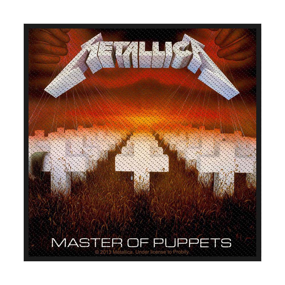 Metallica - Nažehlovačka Master of Puppets