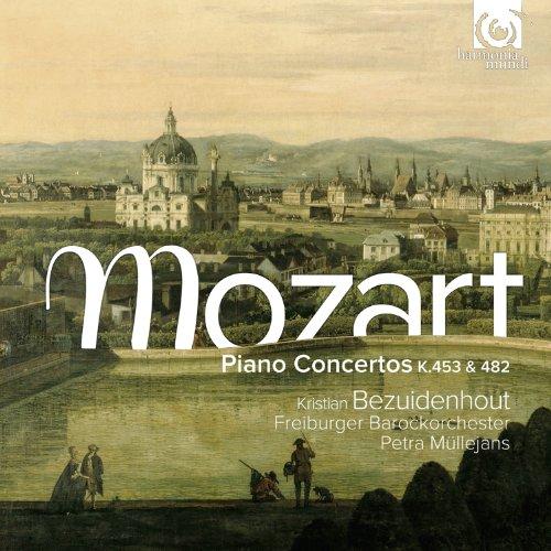 CD MOZART, W.A. - PIANO CONCERTOS K453 & K482