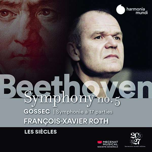 CD LES SIECLES / FRANCOIS-XAVIER ROTH - BEETHOVEN SYMPHONY NO.5