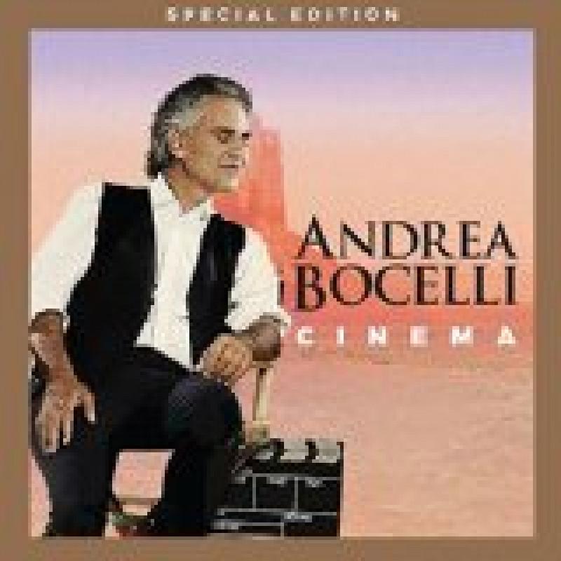 ANDREA BOCELLI - CD CINEMA/DVD