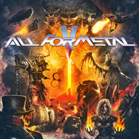 CD V/A - ALL FOR METAL VOL.5