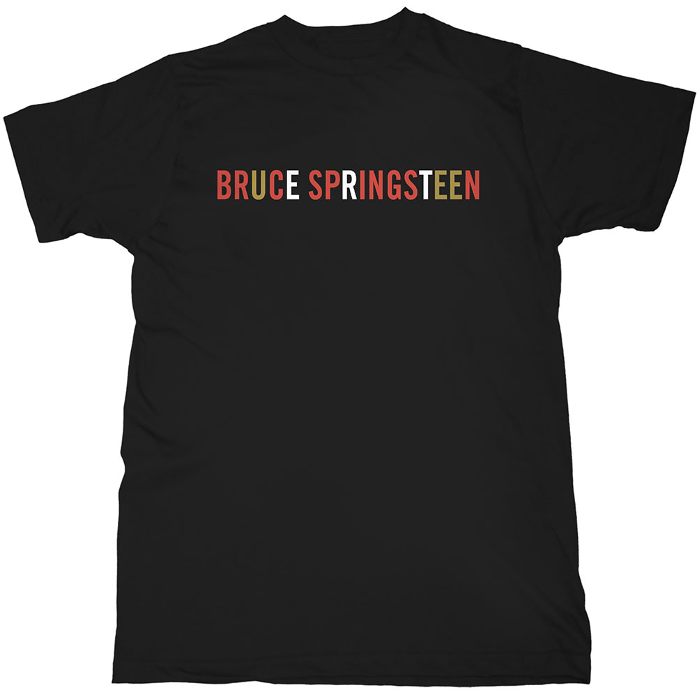 Bruce Springsteen - Tričko Logo - Muž, Unisex, Čierna, L