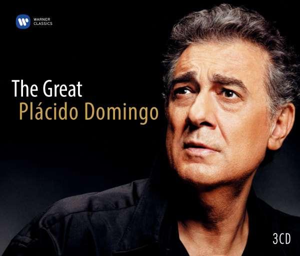 CD DOMINGO, PLACIDO - THE GREAT PLACIDO DOMINGO