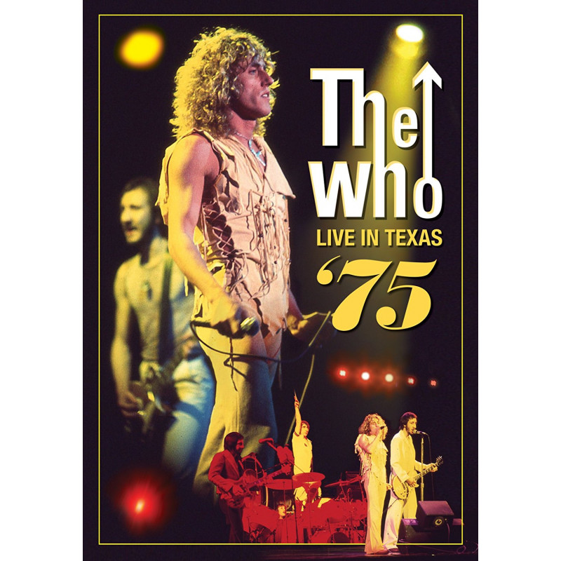 DVD WHO THE - LIVE IN TEXAS '75