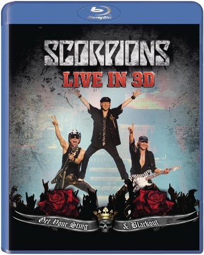 Scorpions - Blu-ray GET YOUR STING AND BLACKOUT LIVE IN 3D