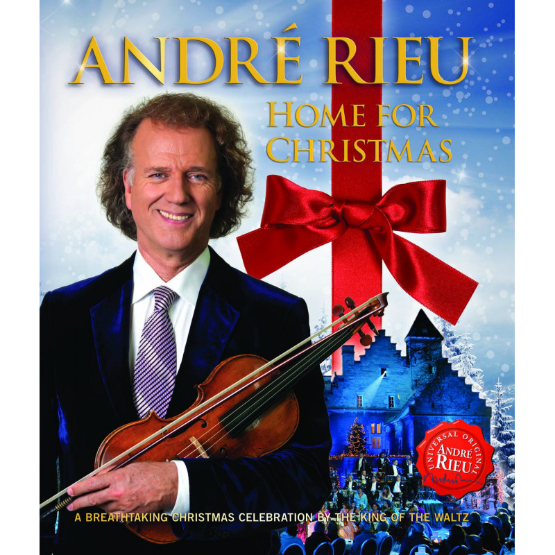 Blu-ray RIEU ANDRE - HOME FOR CHRISTMAS