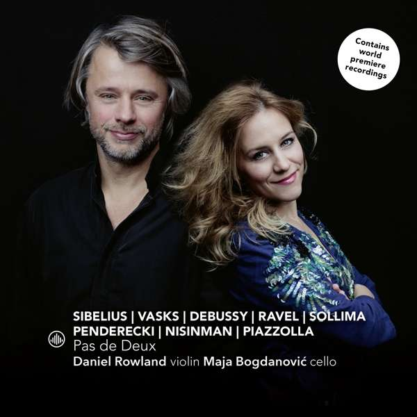 CD ROWLAND, DANIEL / MAJA BO - PAS DE DEUX