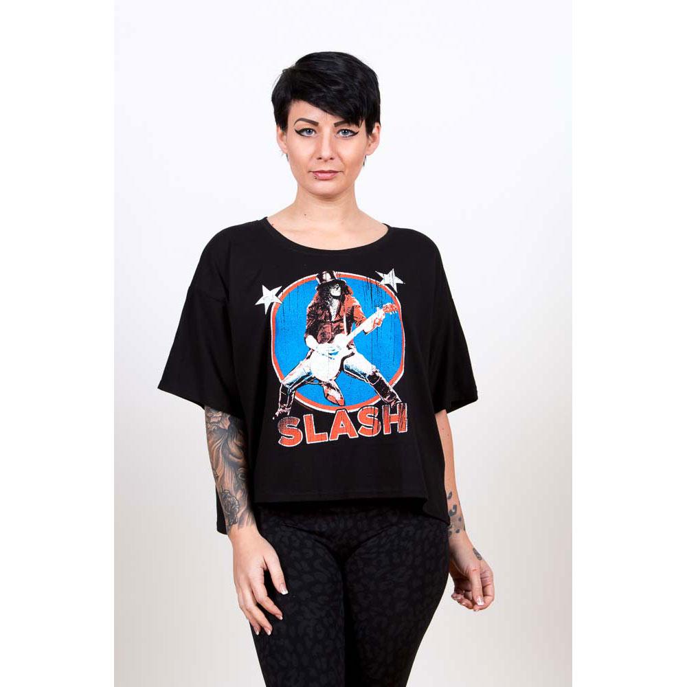 Slash - Tričko Stars - Žena, Čierna, M