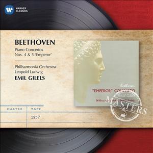 CD GILELS, EMIL - BEETHOVEN: PIANO CONCERTOS NOS. 4 & 5