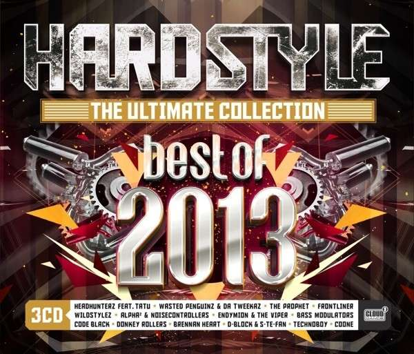 CD V/A - BEST OF 2013 - HARDSTYLE THE ULTIMATE COLLECTION