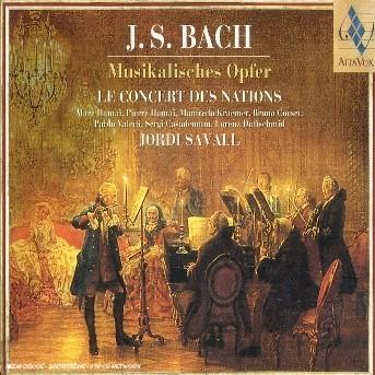 CD BACH, J.S. - MUSIKALISCHES OPFER