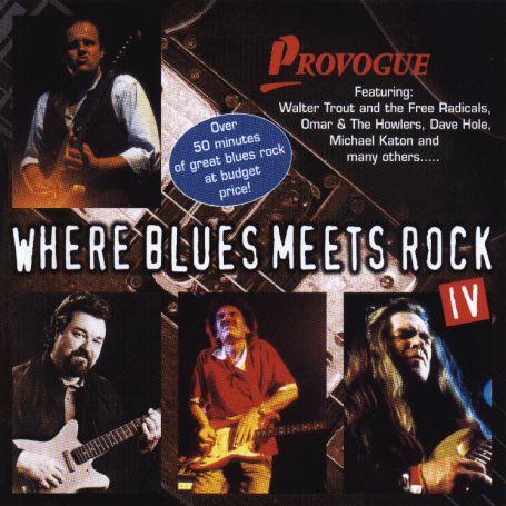 CD V/A - WHERE BLUES MEETS ROCK 4