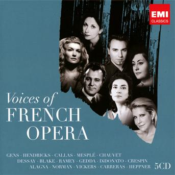 Various - CD VOICES OF FRENCH OPERA/LTD