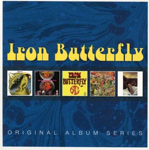 CD IRON BUTTERFLY - ORIGINAL ALBUM SERIES