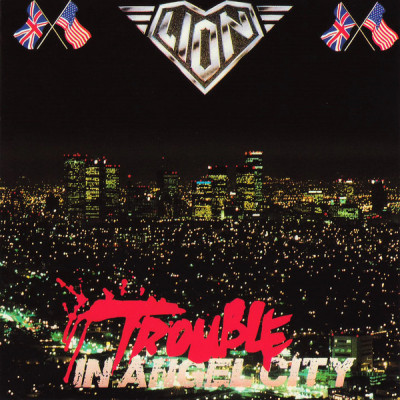 CD LION - TROUBLE IN ANGEL CITY