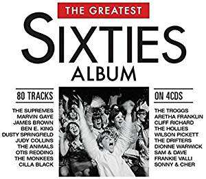 CD VARIOUS ARTISTS - THE GREATEST SIXTIES ALBUM