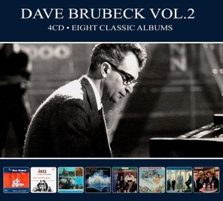 CD BRUBECK, DAVE - EIGHT CLASSIC ALBUMS VOL.2