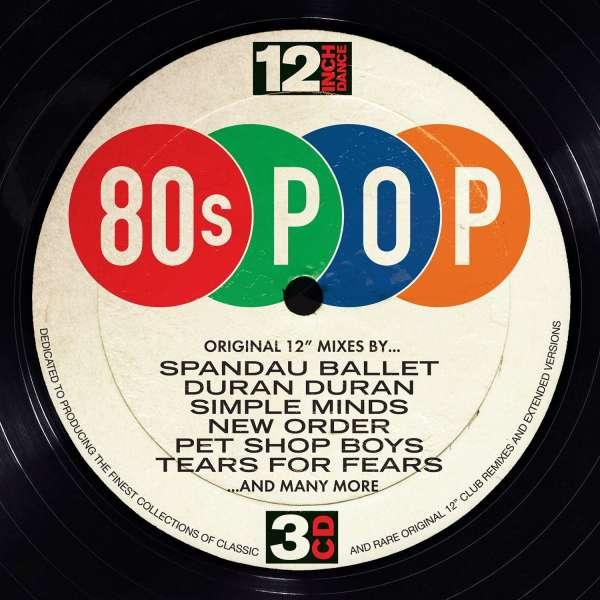 CD VARIOUS ARTISTS - 12 INCH DANCE: 80S POP