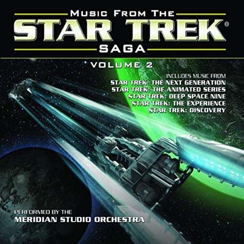 CD MERIDIAN STUDIO ORCHESTRA - MUSIC FROM THE STAR TREK SAGA VOLUME 2